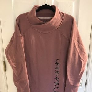 NWT Calvin Klein Rose Performance Sweatshirt XL
